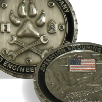 commemorative coin 203rd engineer battalion joplin afghanistan vector jaedger copyright 2010 josh edger