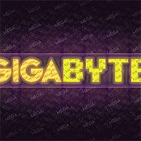 Josh_Edger jaedger vector illustrator gigabyte typography logo lemon/milk 8-bit madness game over pixelmix 2019