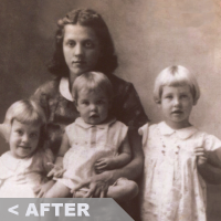old family photo restore fabricate photoshop jaedger copyright 2016 josh edger